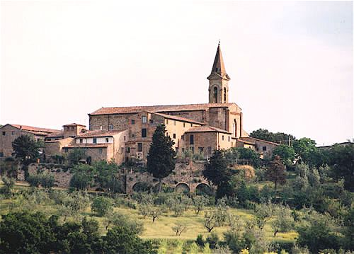 Church of Santa Lucia al Borghetto, Tavarnelle